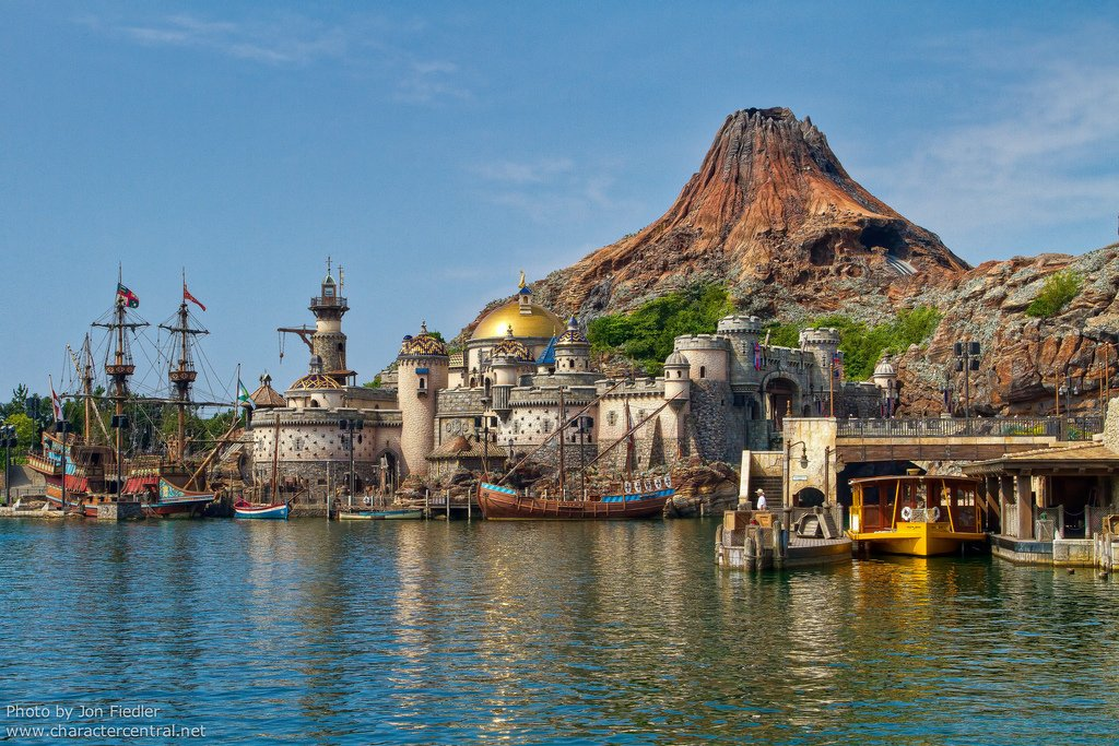 Tokyo Disney Sea Park on Language Arts Theme